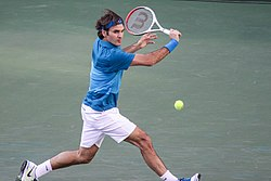 File photo of Roger Federer, 2012. Image: Mike McCune (flickr).