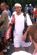 2002年全米オープン にて