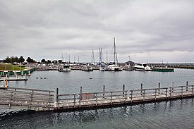 Rogers City Marina on Lake Huron