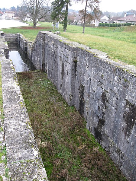 Détail de l'échelle de sept écluses de Rogny-les-Sept-Écluses