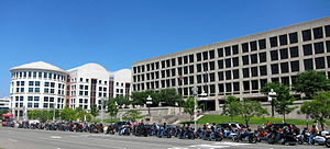 Rolling Thunder (organization) - The Rolling Thunder riding on Constitution Avenue in 2010