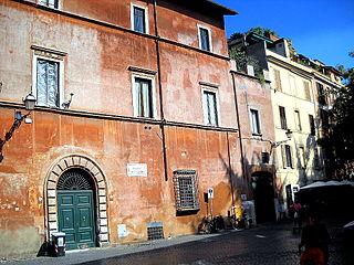 Rome, Trastevere Piazza S Egidio