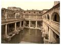 Roman Baths and Abbey, II, Bath, England-LCCN2002696368.tif
