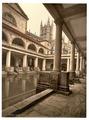 Roman Baths and Abbey, III, Bath, England-LCCN2002696369.tif