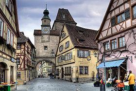 Rothenburg Ob Der Tauber Reisefhrer Auf Wikivoyage