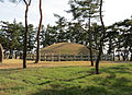 Royal tomb of King Heondeok-Back.jpg