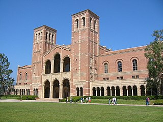 building on the campus of the University of California, Los Angeles