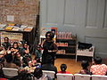 Ruby Bridges Hall students from balcony.JPG