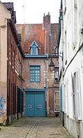 Rue des Brigittines au tournant le plus éloigné de la rue Gustave Delory.jpg