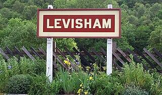Levisham railway station Railway station in North Yorkshire, England
