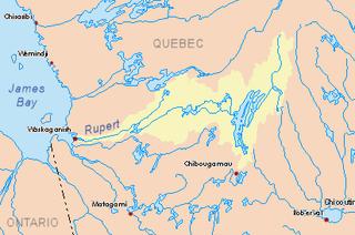 Nemiscau River Nemiscau River is a river flowing in municipality of James-Bay, in administrative region of Nord-du-Québec, in Quebec, Canada.