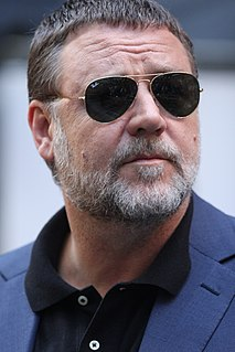 Russell Crowe New Zealand-born Australian actor, film producer and musician