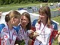 Russia Relay silver medal WOC 2008 -4.JPG
