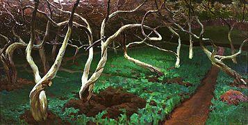 Ruszczyc Old apple trees