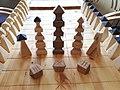 Sáhkku pieces and board, Unjárga Nesseby 2018.jpg