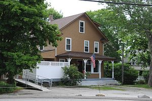 Saunderstown, Rhode Island - House in the historic district