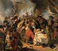 SA 4958-Anno 1676. Michiel de Ruyter wordt dodelijk gewond in de slag bij Etna.jpg