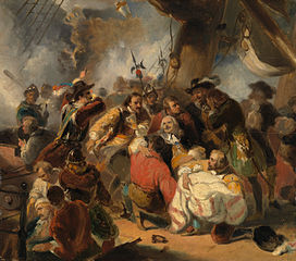 The year 1676. Michiel de Ruyter is mortally wounded in the battle of Mount Etna