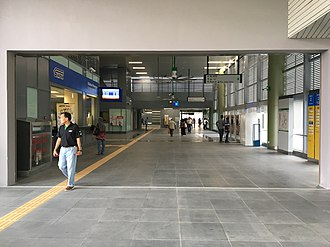 Kajang station - Image: SBK Line Kajang Station Common Concourse 2