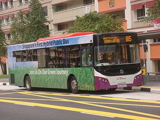 Sunlong Bus - Sunlong Hybrid bus