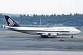 SINGAPORE AIRLINES Boeing 747-312 (N122KH 23033 609) (5679742837).jpg