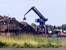 Bulk-handling crane - Wikipedia