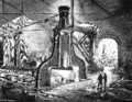 STEAM HAMMER IN FULL WORK. FROM A PAINTING BY JAMES NASMYTH.png