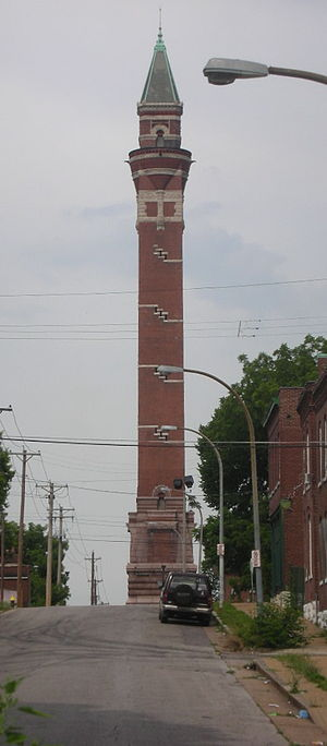 College Hill, St. Louis - Image: STL Bissell and Blair Water Tower 01