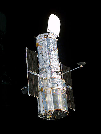 STS-109 - Hubble Space Telescope after servicing by the crew of STS-109