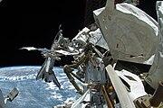 STS-134 EVA4 Michael Fincke 7