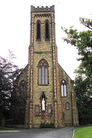 Thornton, Lancashire - Image: Sacred Heart Roman Catholic Church, Burn Naze geograph.org.uk 1961987