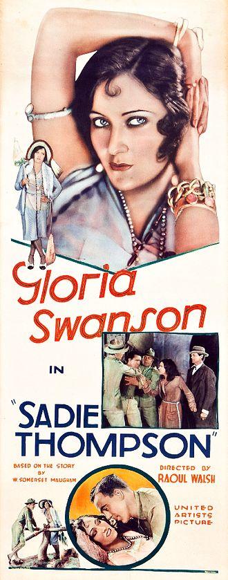 Sadie Thompson - Film poster