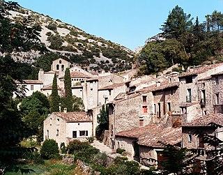 Saint-Guilhem-le-Désert Commune in Occitanie, France