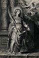 Saint Catherine. Line engraving. Wellcome V0031805.jpg