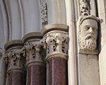 Saint Julie Billiart Catholic Church (Hamilton, OH) - Saint Paul, jambshafts.jpg