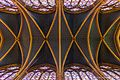 Sainte Chapelle ceiling (Paris, France) (19216148590).jpg