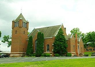 Salem Presbyterian Church (Washington College, Tennessee) - Image: Salem Presbyterian Church tn 1