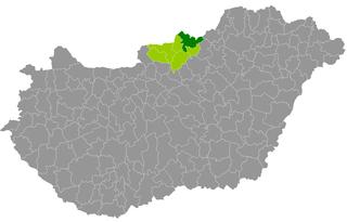 Salgótarján District Districts of Hungary in Nógrád