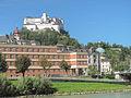 Salzburg, Hohensalzburg,Benediktinen-Frauenstift Nonnberg en Salzburger Dom foto3 2011-07-17 10.14.JPG