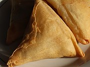 A triangular Samosa