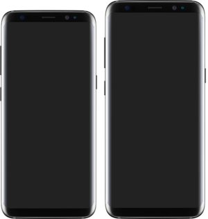 Samsung Galaxy S8 - Image: Samsung Galaxy S8 and S8 Plus