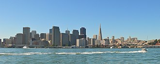 Embarcadero (San Francisco) - View from the bay 2007
