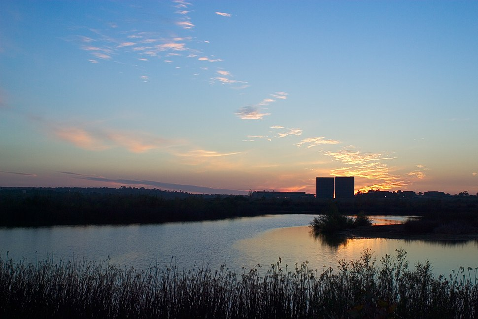 San Joaquin Wildlife Sanctuary sunset