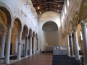 San Salvatore, Brescia - Interior of San Salvatore's church