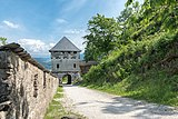 Sankt Georgen am Längsee Burg Hochosterwitz 07 Khevenhüllertor 1582 01062015 4284.jpg