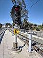 Santa Clara VTA light rail signal at Hamilton.jpg