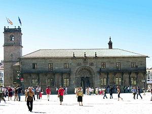 Praza do Obradoiro - Image: Santiago fonseca GDFL050914 038