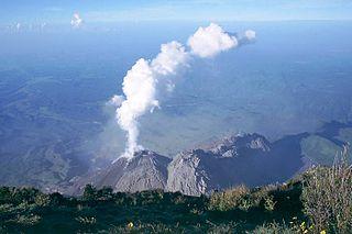 Santa María (volcano) mountain