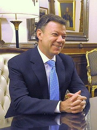 Colombian presidential election, 2010 - Image: Santos Calderon Juam M