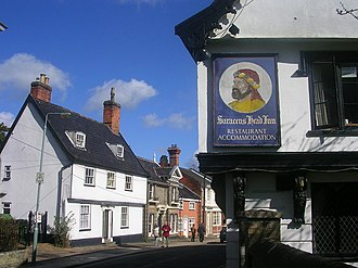 Diss - Image: Saracen's Head, Diss geograph.org.uk 155955